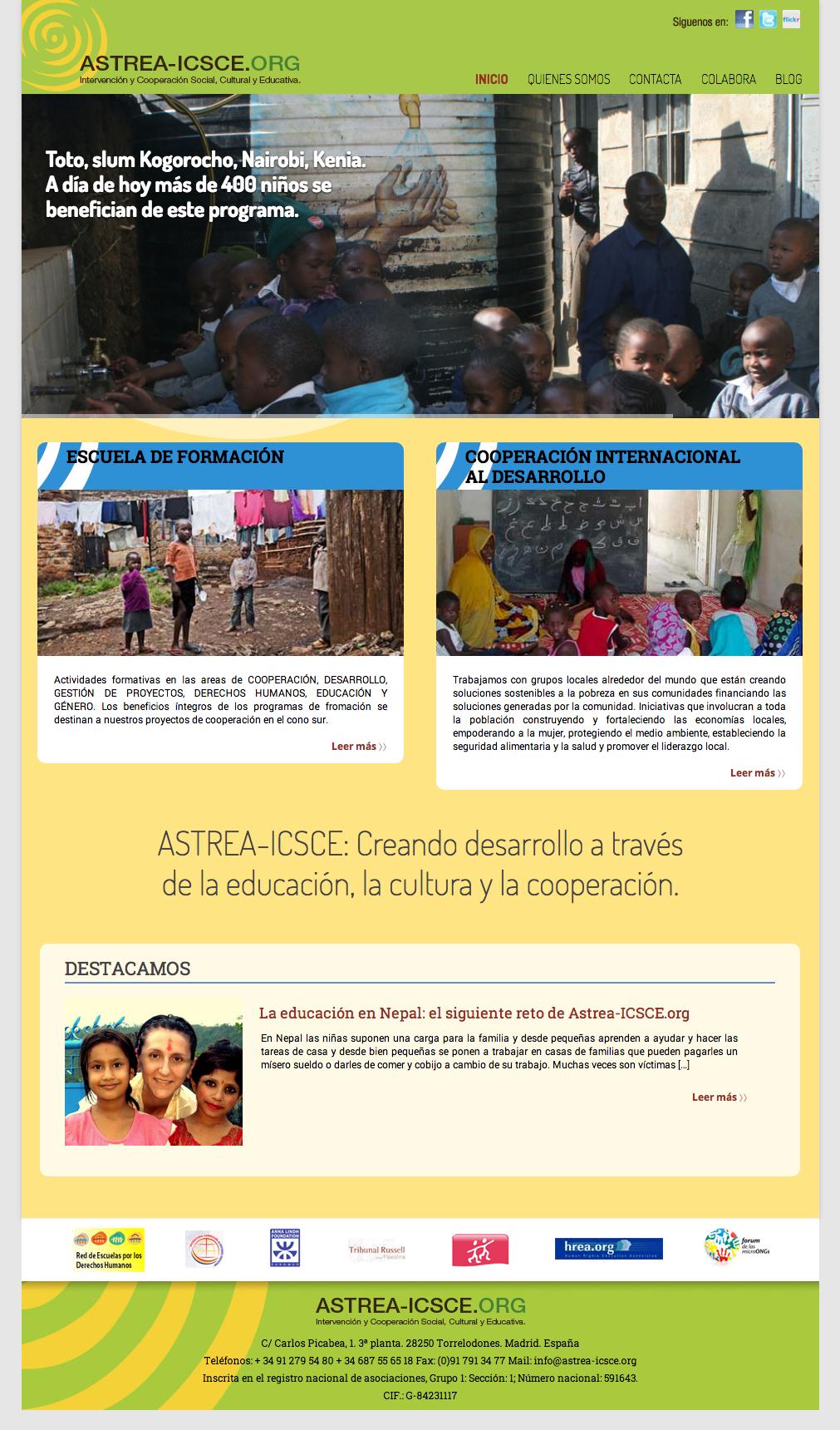 ASTREA-ICSCE | Intervencion y cooperacion social, cultural y educativa