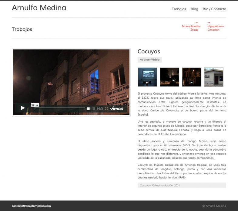 Arnulfo Medina - by Mrfoxtalbot