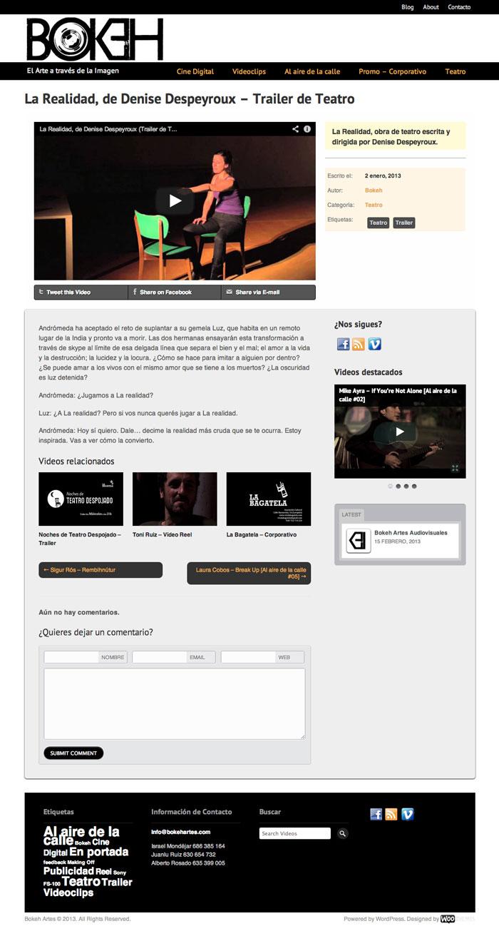 Bokeh Artes Audiovisuales - by Mrfoxtalbot